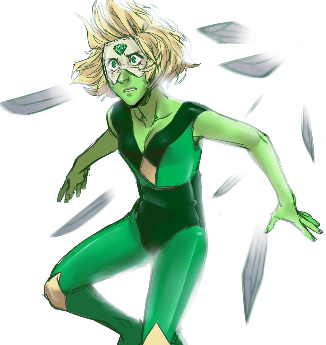 …guess who get hyped by the latest episodes give me more warrior!Peridot please