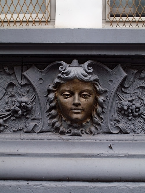 face and scroll work