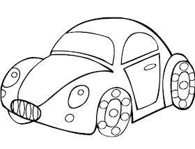 Sketsa Mobil Vw