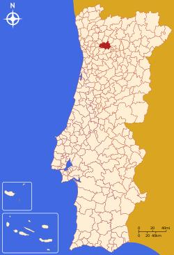 Localização de Amarante