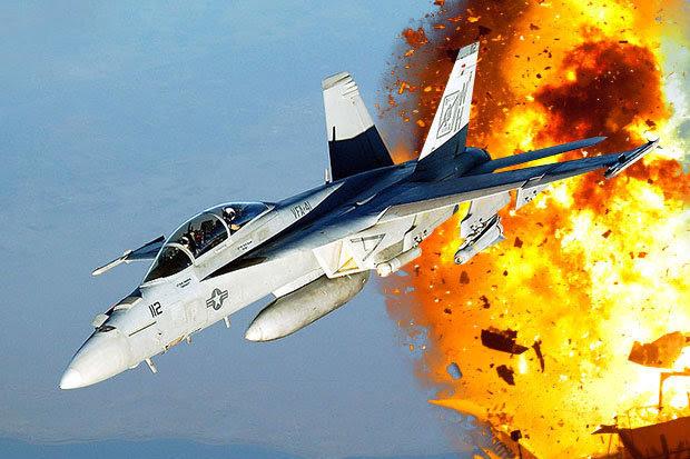 US F/A-18E Super Hornet fighter jet