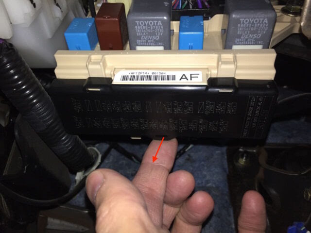 Toyota Sienna Fuse Locations Share Your Repair
