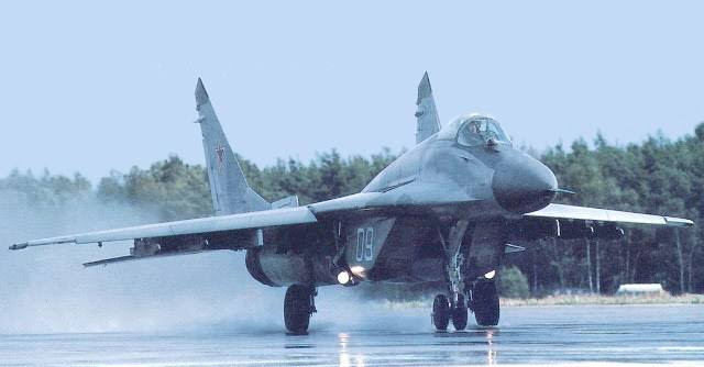 "Russian Mikoyan-Gurevich MiG-29 ""Fulcrum"" Fighter-Bomber"