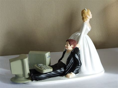 Details about Wedding Cake Topper Humorous Dallas Cowboys