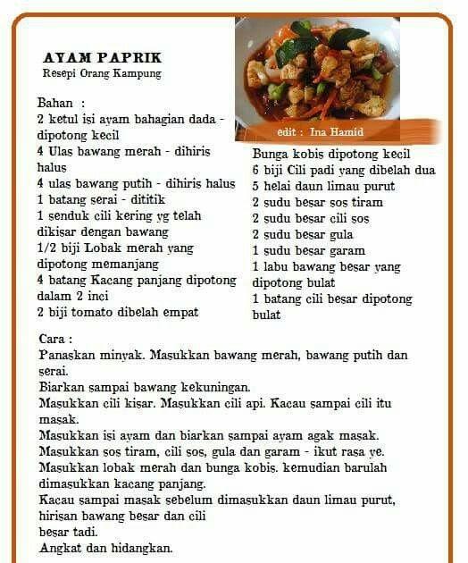 resepi daging masak kicap minang  quotes Resepi Ayam Masak Kunyit Berkuah Enak dan Mudah