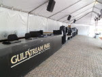 Tent for fans at GP West
