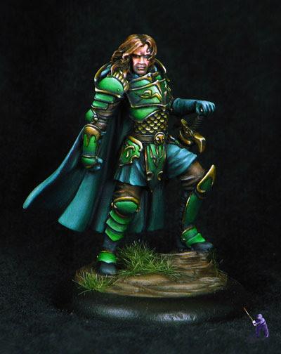 Dark Sword Warrior with Bastard Sword