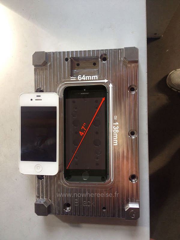 New Photo of Alleged iPhone 6 Manufacturing Mold Hints at ...