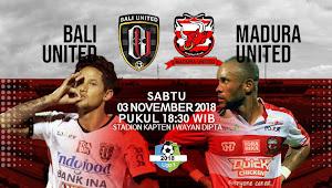 Prediksi Pertandingan Liga 1 2018 : Bali United vs Madura United