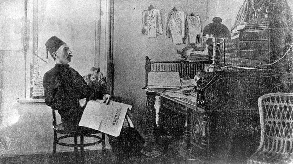 Исмаил-бек Гаспринский, 1910 год