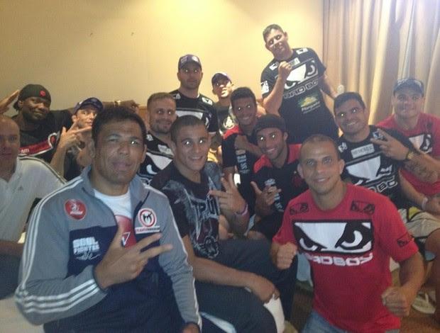 Rodrigo Minotauro, Wagner Caldeirão, Ibson, Ramon, Fabio Maldonado (Foto: Reprodução/ Twitter)