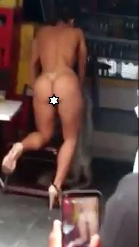 Mulher Melão tem sua nudez registrada por fãs