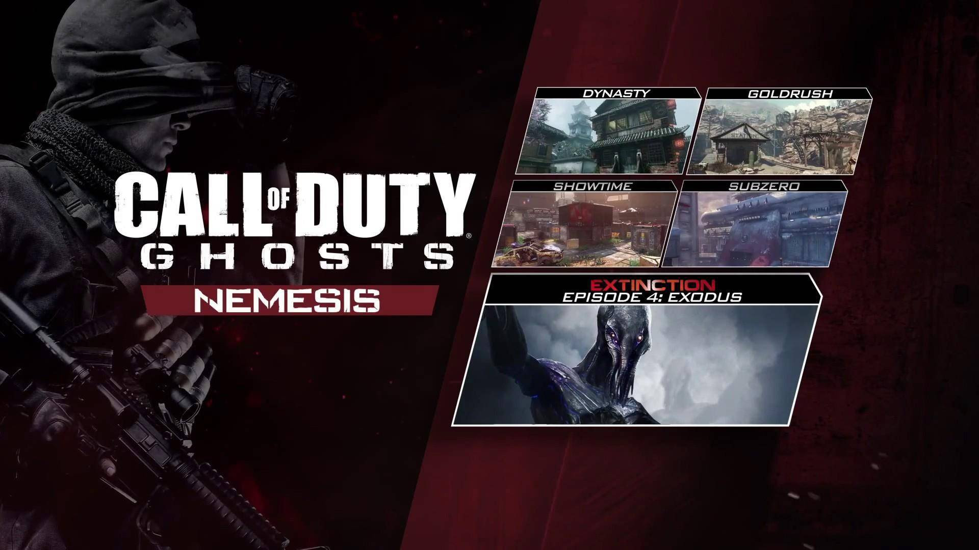 Buy Call Of Duty Ghosts Nemesis Dlc Pc Cd Key For Steam