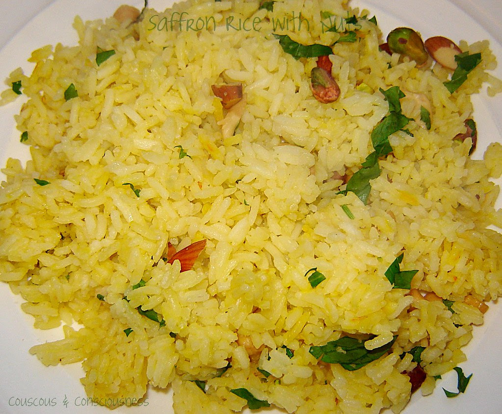 Saffron Rice with Nuts 1