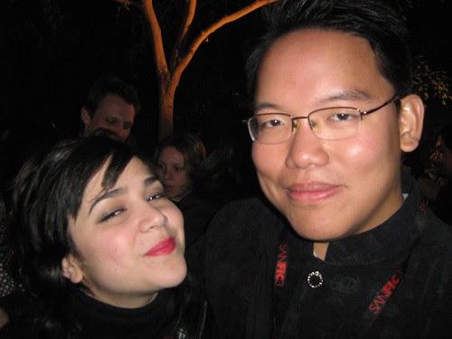 With Miriana Moro, actress producer of Drama Mex