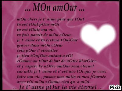 Photo Montage Poeme D Amour Pixiz