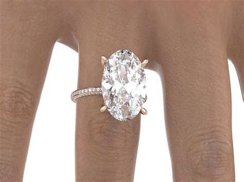 Blake Lively's Engagement Ring in Rose Gold   Taylor
