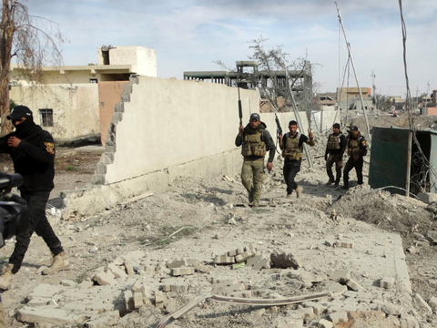 Iraq Iraqi Security Forces Soldiers Ramadi
