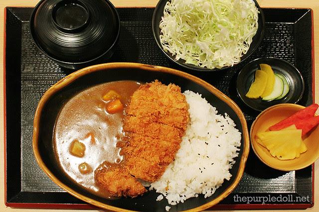Chicken Katsu Curry P320
