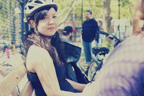 brooklyn bike polo michelle