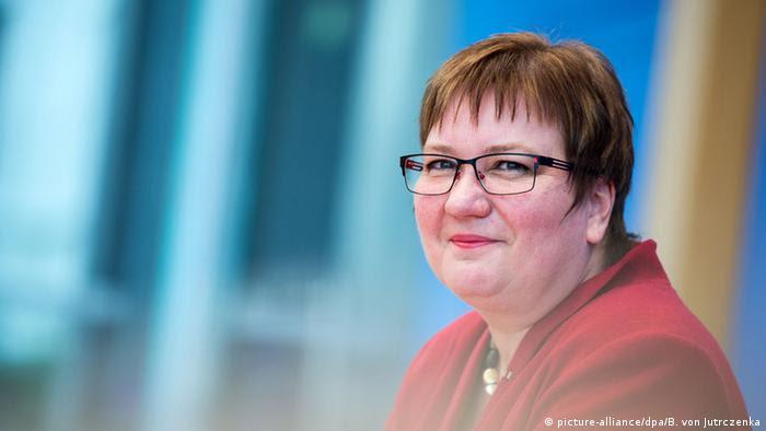 Iris Gleicke, la delegada del este del Gobierno alemán.