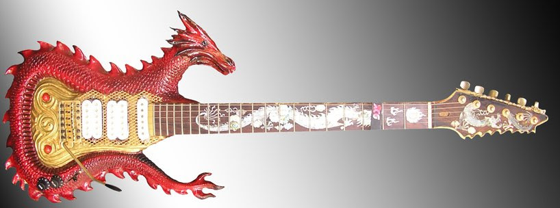 jamie ghio sanches + mike braunewell carve custom guitars