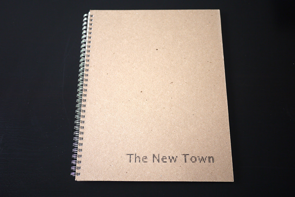 Hammerand, Andrew. The New Town. Somerville: Houseboat Press, 2013, 70 pages. Edition of 25 (AP).