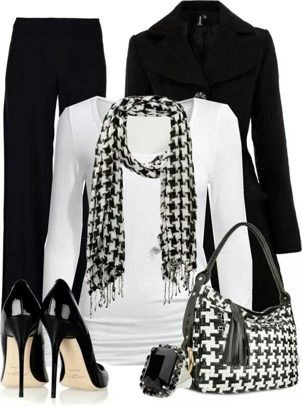 Black & white outfit