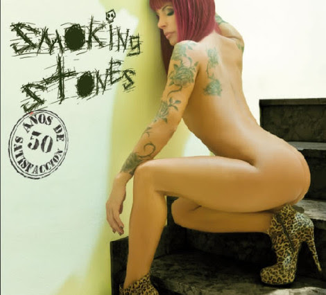 La portada del disco de Smoking Stones.