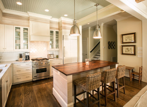 Kitchen ceiling color? - Houzz