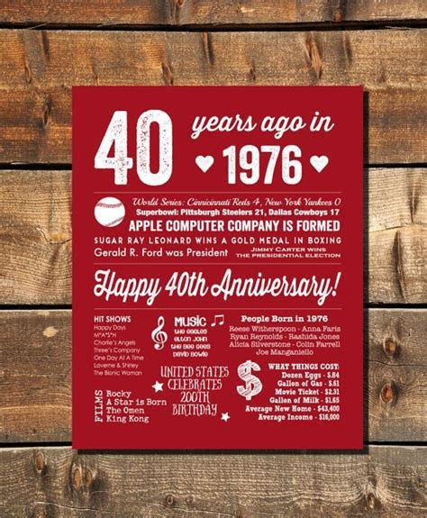 Best 25  40th anniversary decorations ideas on Pinterest