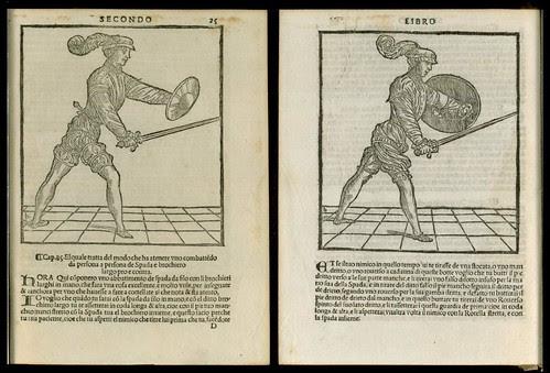 L'arte de l'Armi by Achille Marozzo, 1536 b