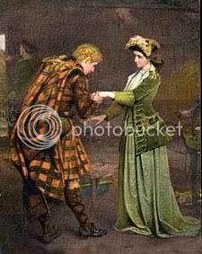 English prince and lady