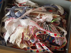 trims & ribbons box before