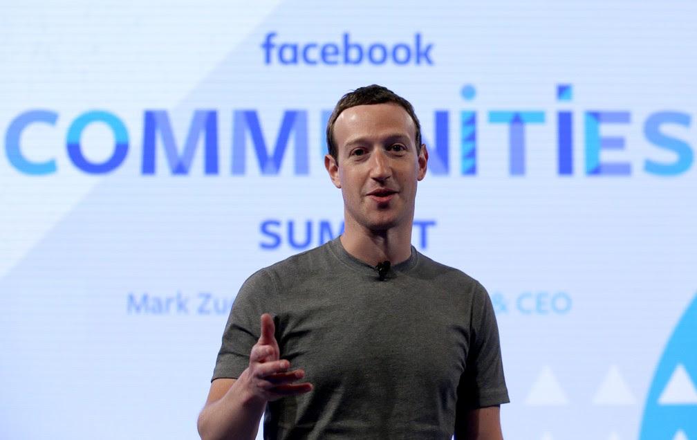 Mark Zuckerberg durante evento em Chicago, nos Estados Unidos (Foto: Nam Y. Huh/AP)