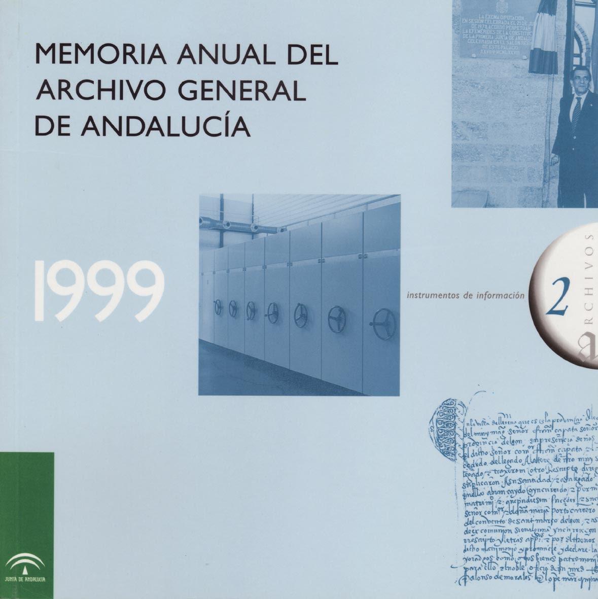 Resultado de imagen de instrumentos de información en archivos andaluces