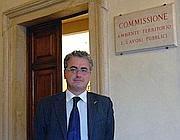 Il deputato Carlo Monai (Idv)