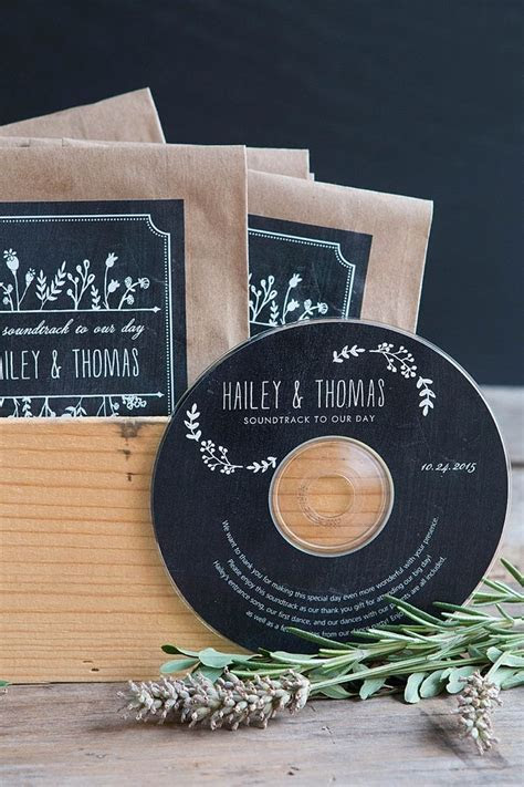CD Wedding Favors   Recipe   Cd wedding favors, Wedding