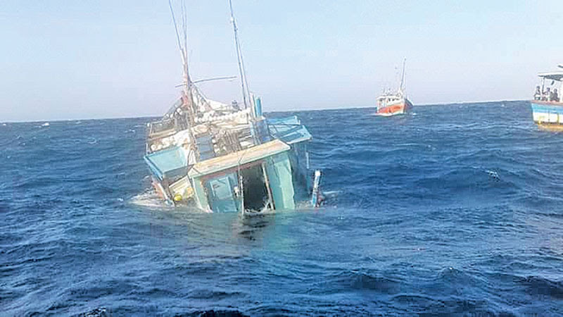 Four dead, two missing in fishing vessel accident