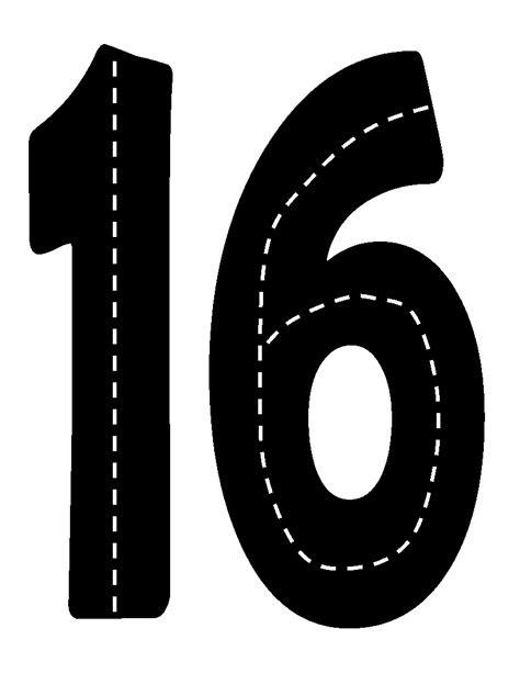 Printable Road Numbers | Classroom Theme-Racing/Cars