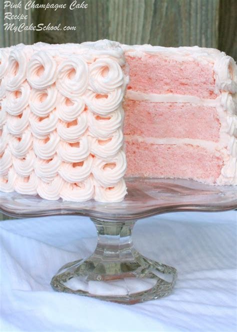 Pink Champagne Cake  A Doctored Cake Mix Recipe   My Cake
