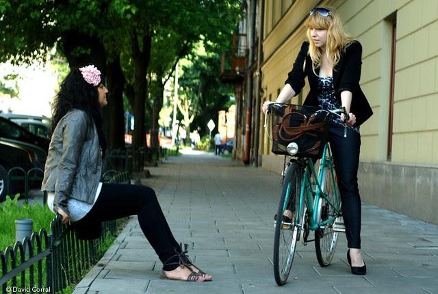 Bicicleta en Cracovia
