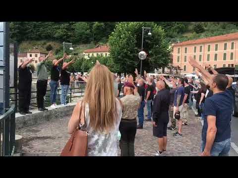 Dongo, in 150 al presente per Benito Mussolini, Claretta Petacci ed i gerarchi fascisti