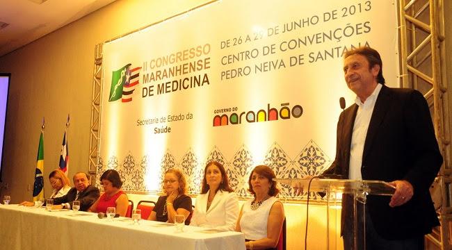 Ricardo Murad em palestra no II Congresso Maranhense de Medicina