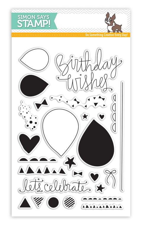 Simon Says Clear Stamps BIRTHDAY BITS sss101544