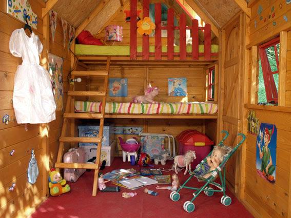 Casas de madera prefabricadas casas para ninos de madera - Casa munecas eurekakids ...