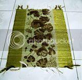 Placemat Mendong Batik Emas 1