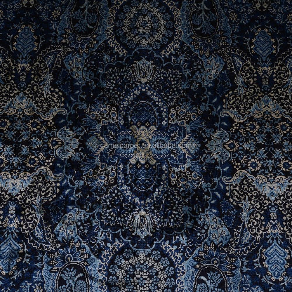 Azul oscuro alfombra persa precio de fábrica exportación ...