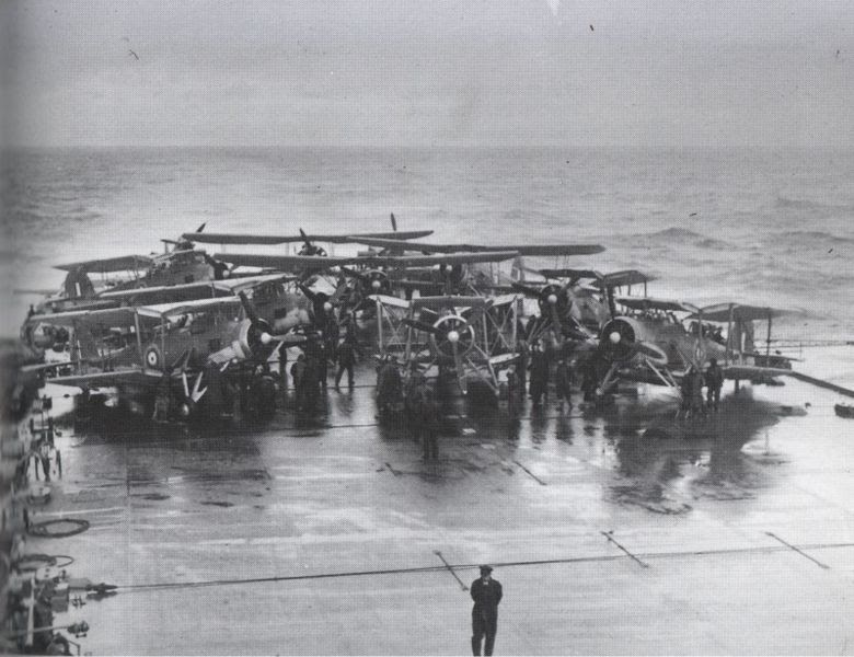 File:Swordfish on HMS Victorious before strike on Bismarck.jpg