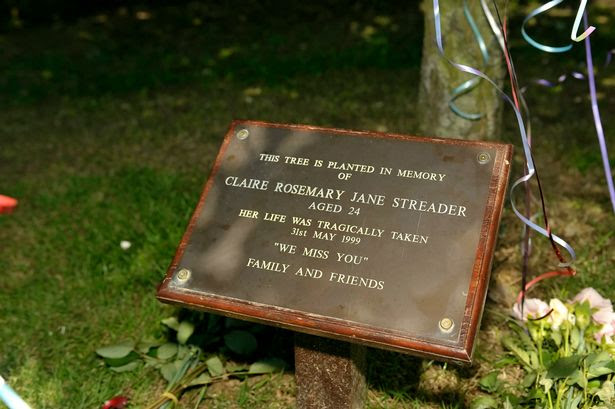 Scene of the murder of Claire Streader in St Stephens Park, Canterbury